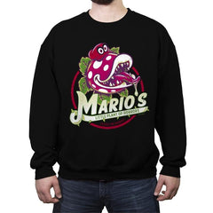 Little Plant of Horrors - Crew Neck Sweatshirt - Crew Neck Sweatshirt - RIPT Apparel