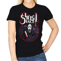 My Scary Mask - Womens - T-Shirts - RIPT Apparel