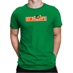 St. Paddy's Exclusive - St Paddys Day - Mens Premium - T-Shirts - RIPT Apparel