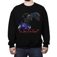 Alien Ejection - Crew Neck Sweatshirt - Crew Neck Sweatshirt - RIPT Apparel