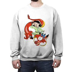 The Fa's dragon - Crew Neck Sweatshirt - Crew Neck Sweatshirt - RIPT Apparel
