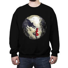 Little Red Head - Crew Neck Sweatshirt - Crew Neck Sweatshirt - RIPT Apparel