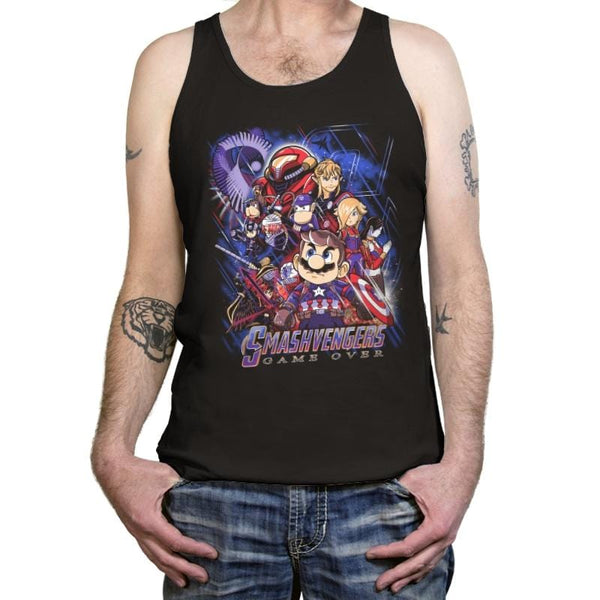 6631c4a717e5b Smash Over - Tanktop - Tanktop - RIPT Apparel