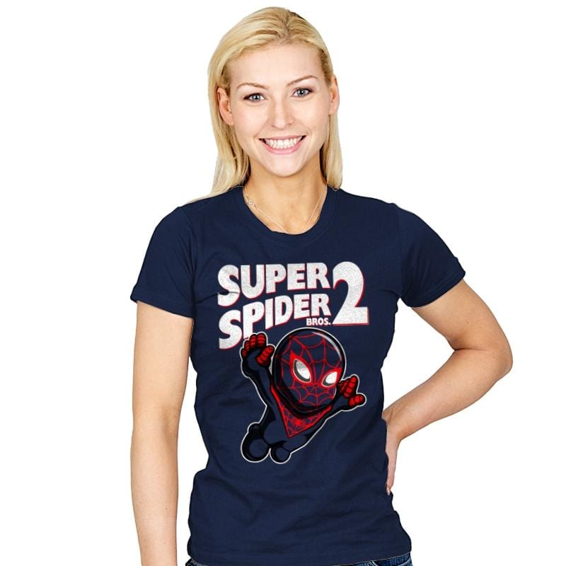 Super Spider Bros 2 - Womens - T-Shirts - RIPT Apparel