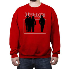 Ultra-Violent Rock - Crew Neck Sweatshirt - Crew Neck Sweatshirt - RIPT Apparel