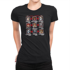 Mega Slashers Exclusive - Dead Pixels - Womens Premium - T-Shirts - RIPT Apparel