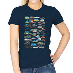 Famous Cars - Anytime - Womens - T-Shirts - RIPT Apparel