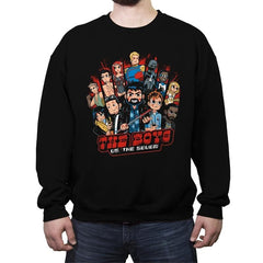 Diabolical Pilgrim - Crew Neck Sweatshirt - Crew Neck Sweatshirt - RIPT Apparel
