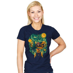 Starry Hunter - Womens - T-Shirts - RIPT Apparel