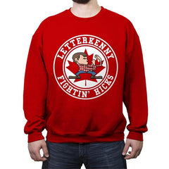 Fightin' Hicks - Crew Neck Sweatshirt - Crew Neck Sweatshirt - RIPT Apparel