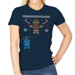 Ugly Cookie! - Ugly Holiday - Womens - T-Shirts - RIPT Apparel