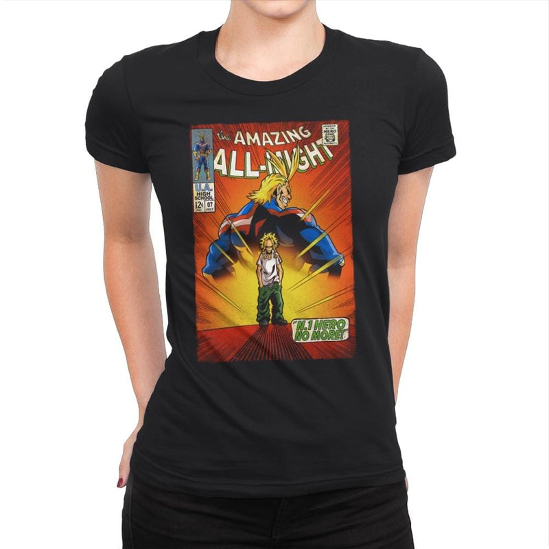 The Amazing All Might - Best Seller - Womens Premium - T-Shirts - RIPT Apparel