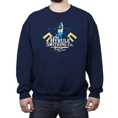 Hyrule Smithing Co. - Crew Neck Sweatshirt - Crew Neck Sweatshirt - RIPT Apparel
