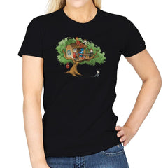 Super-Exclusive Club - Miniature Mayhem - Womens - T-Shirts - RIPT Apparel