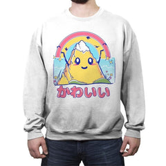Mount Kawaii - Crew Neck Sweatshirt - Crew Neck Sweatshirt - RIPT Apparel