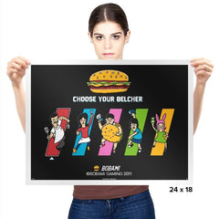 Choose Your Belcher - Prints - Posters - RIPT Apparel