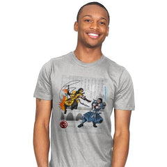 Fire vs Ice - Mens - T-Shirts - RIPT Apparel