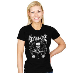Rocking Nevermore - Womens - T-Shirts - RIPT Apparel