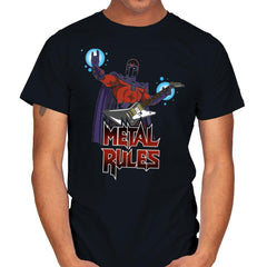 Metal Rules - Mens - T-Shirts - RIPT Apparel