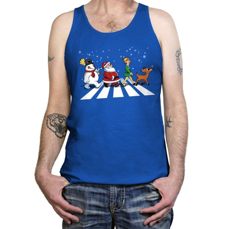 Christmas Road - Tanktop - Tanktop - RIPT Apparel