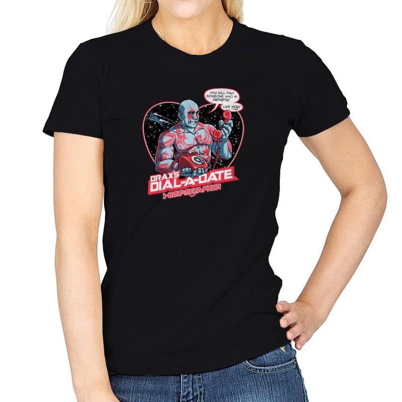 Dial-a-Date Exclusive - Womens - T-Shirts - RIPT Apparel