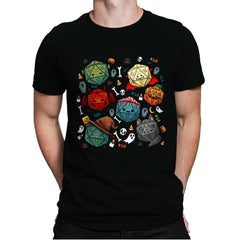 Halloween Dice - Mens Premium - T-Shirts - RIPT Apparel