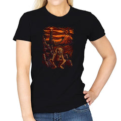Scream In Modor - Pop Impressionism - Womens - T-Shirts - RIPT Apparel
