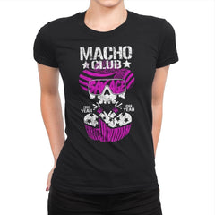 MACHO CLUB Exclusive - Womens Premium - T-Shirts - RIPT Apparel