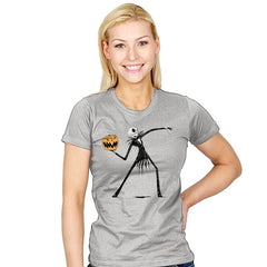 Pumpkin Thrower - Womens - T-Shirts - RIPT Apparel