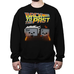 Back To The Past - Raffitees - Crew Neck Sweatshirt - Crew Neck Sweatshirt - RIPT Apparel