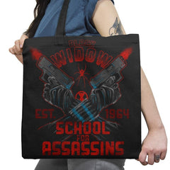 Nat's School for Assassins Exclusive - Tote Bag - Tote Bag - RIPT Apparel