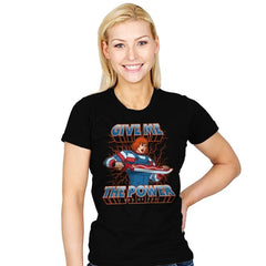 ChuckHe-Man - Womens - T-Shirts - RIPT Apparel