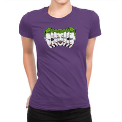 The Joke Has Many Faces Exclusive - Womens Premium - T-Shirts - RIPT Apparel