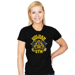 Goldar Gym - Womens - T-Shirts - RIPT Apparel