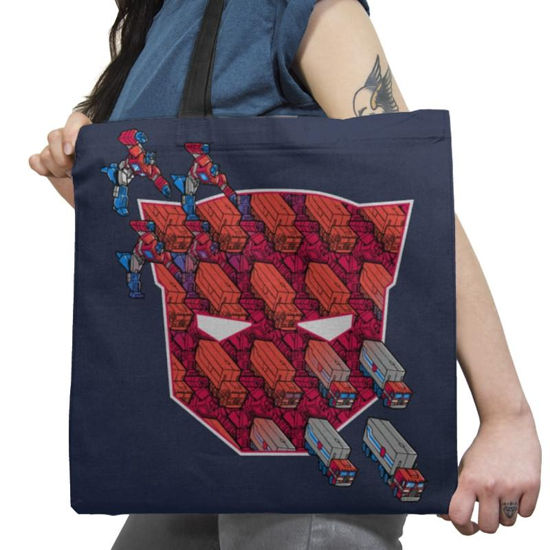 Tessellate, and Roll Out! Exclusive - Tote Bag - Tote Bag - RIPT Apparel