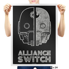 Alliance Switch - Prints - Posters - RIPT Apparel