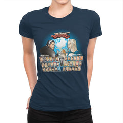 Throne Fighter IV - Womens Premium - T-Shirts - RIPT Apparel