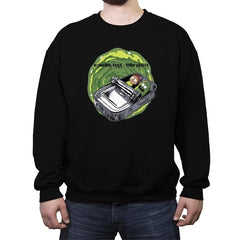 Schwifty Boys - Crew Neck Sweatshirt - Crew Neck Sweatshirt - RIPT Apparel