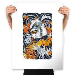 Mecha Otaku - Prints - Posters - RIPT Apparel