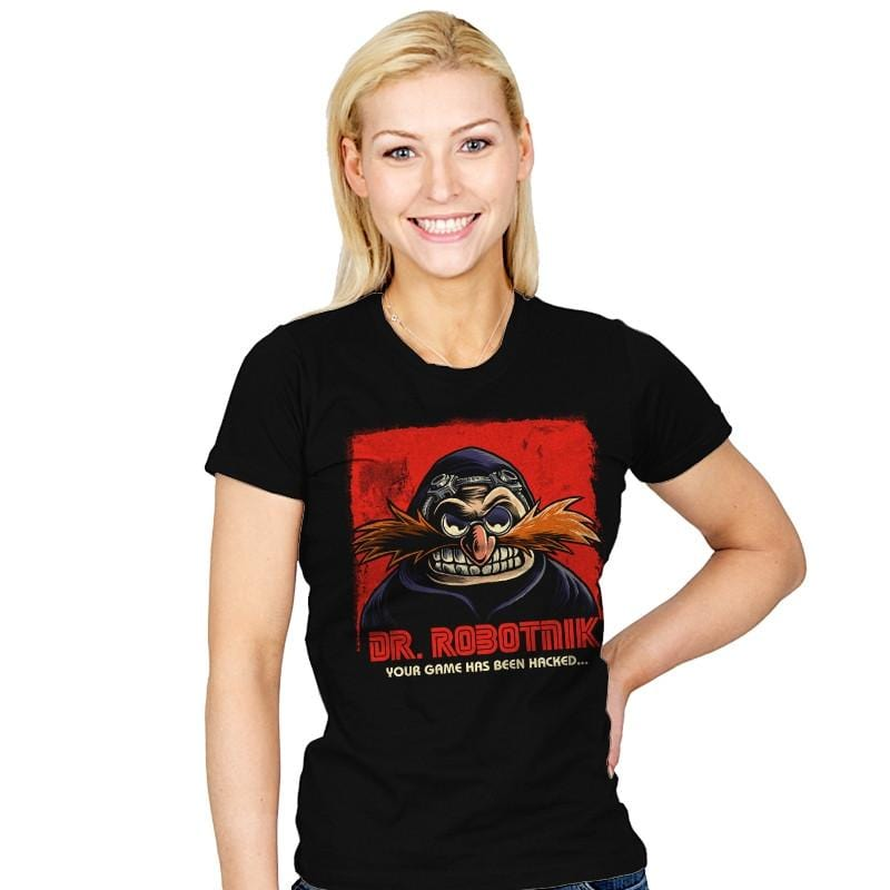 Mr Robotnik - Womens - T-Shirts - RIPT Apparel