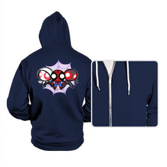 The Powerpuff-Spiders - Hoodies - Hoodies - RIPT Apparel