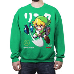 RINKU-SAN - Crew Neck Sweatshirt - Crew Neck Sweatshirt - RIPT Apparel