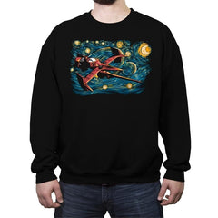 Starry Cowboy - Crew Neck Sweatshirt - Crew Neck Sweatshirt - RIPT Apparel