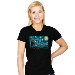 Starry Breath - Womens - T-Shirts - RIPT Apparel