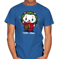 Hello Jokster - Mens - T-Shirts - RIPT Apparel
