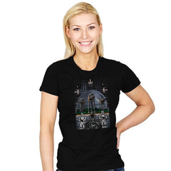 Wrath of the Empire - Womens - T-Shirts - RIPT Apparel