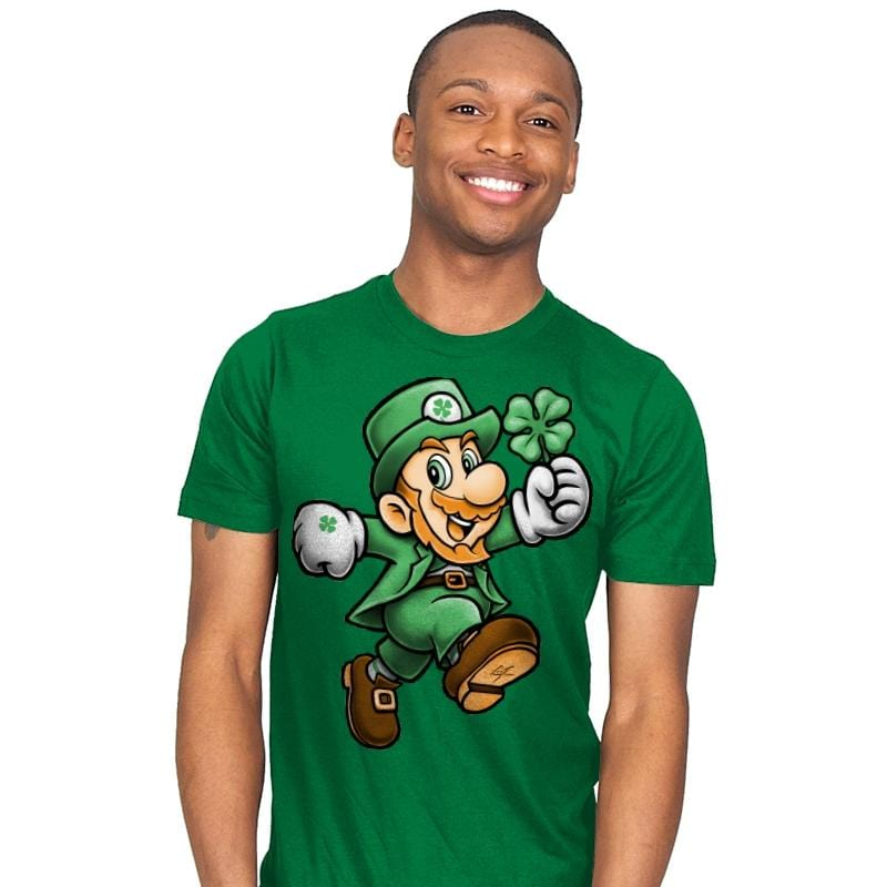 Lucky Plumber - Mens - T-Shirts - RIPT Apparel