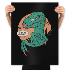 Clever Clever Girl - Prints - Posters - RIPT Apparel