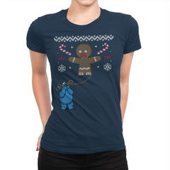 Ugly Cookie! - Ugly Holiday - Womens Premium - T-Shirts - RIPT Apparel
