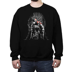 Game of Gods - Crew Neck Sweatshirt - Crew Neck Sweatshirt - RIPT Apparel